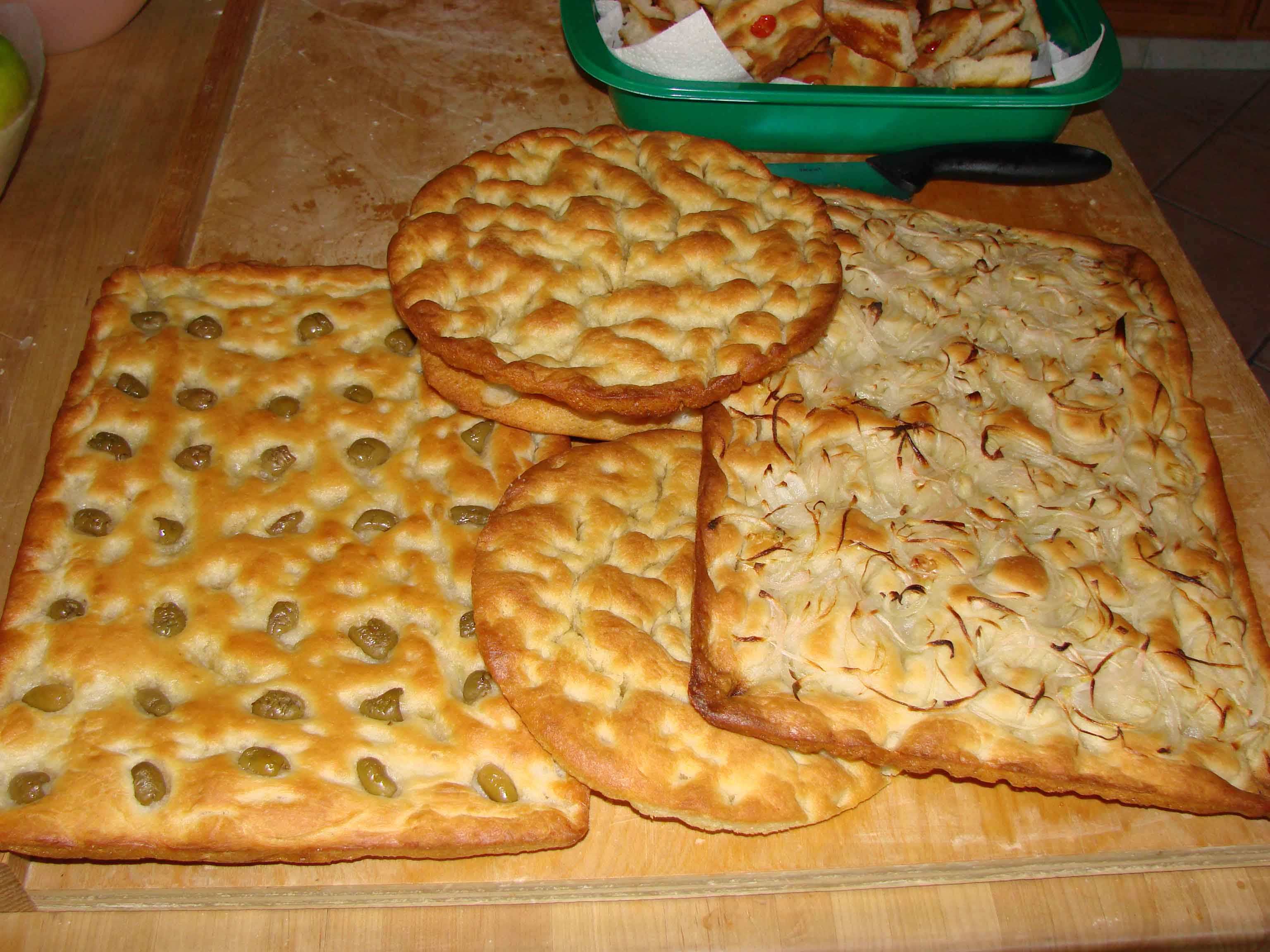 new focaccia genovese recipe this is a new version of focaccia ...