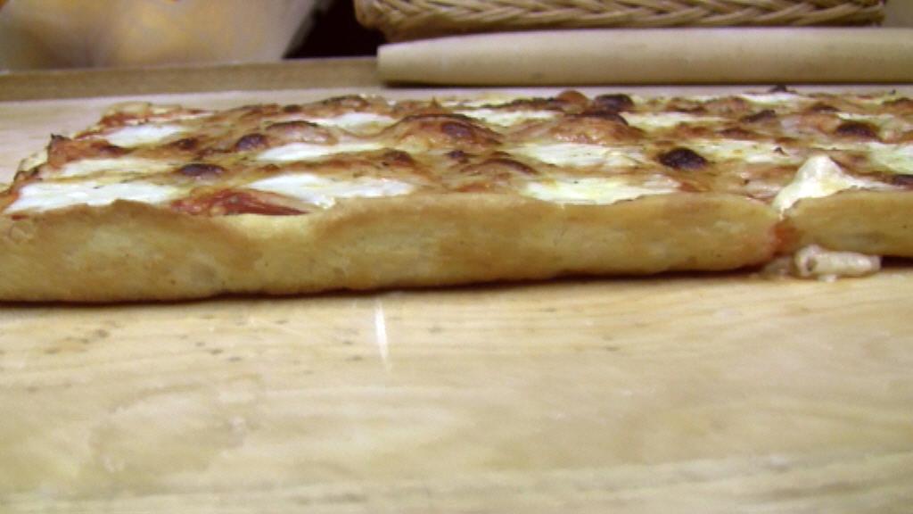 ricetta pizza cottura lato