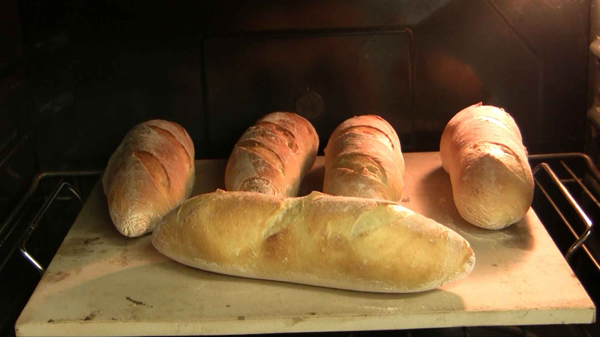 Baguette in Forno