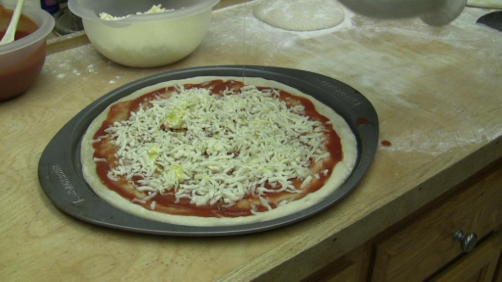 pizza ricetta condimento