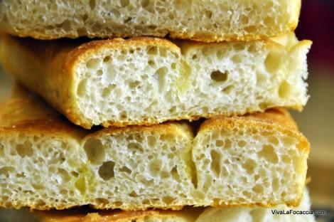 La Ricetta della Focaccia (Schiacciata) di Patate ||