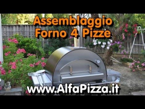 Video thumbnail for youtube video Il Montaggio del Forno a Legan 4 Pizze della AlfaPizza.it