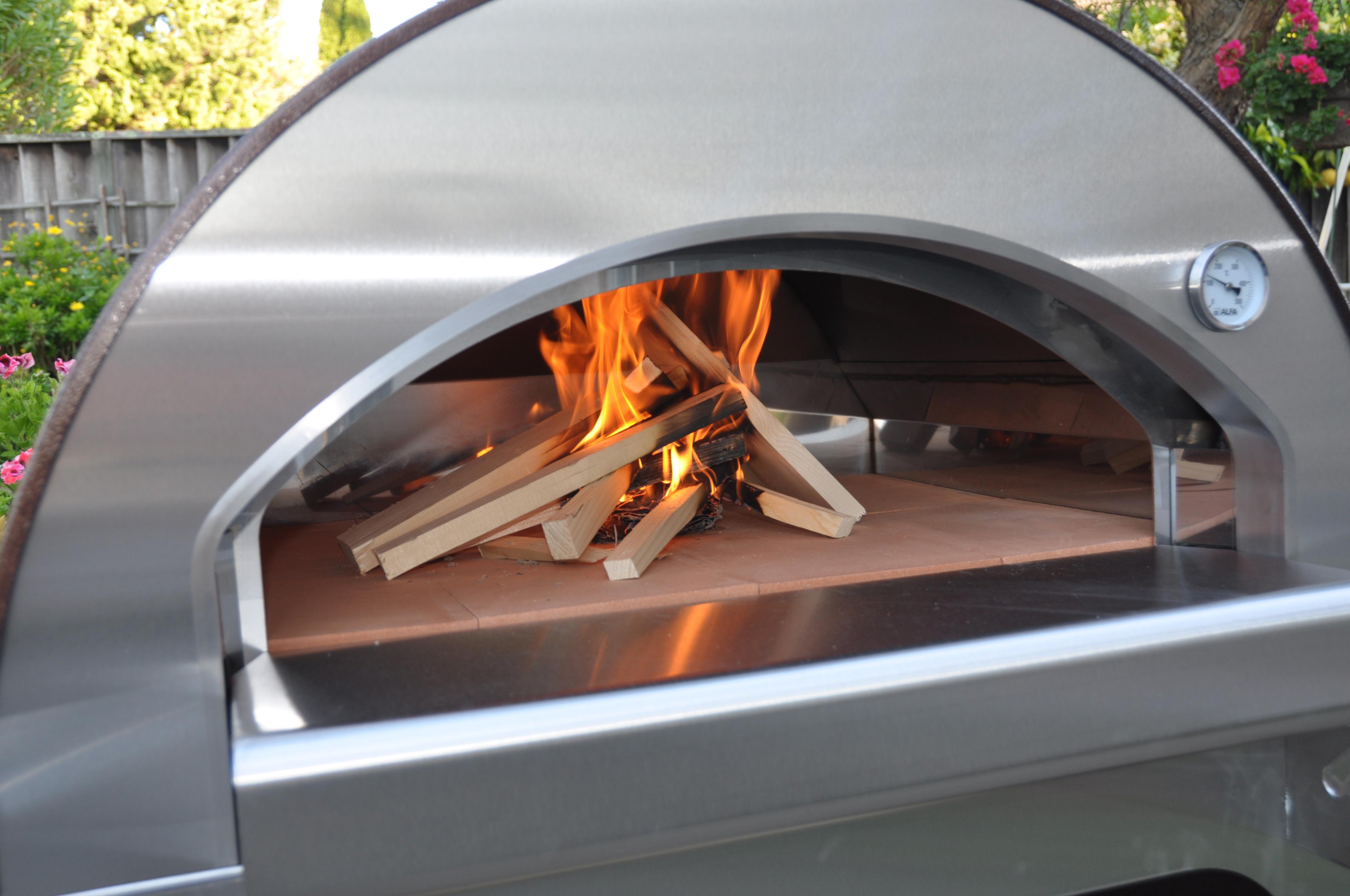 L 39 accensione del forno a legan alfapizza - Temperatura forno a legna pizza ...