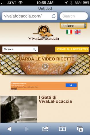 Vivalafocaccia Mobile