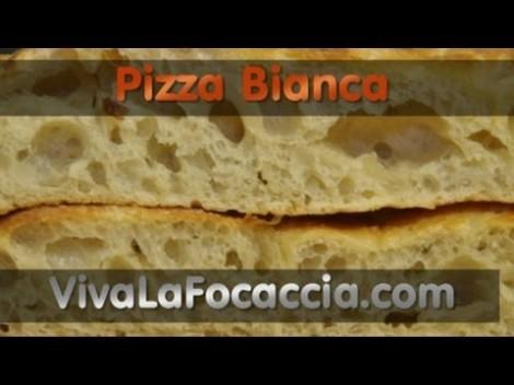 Ricetta Pizza Bianca (Focaccia) Semplice || VivaLaFocaccia.com