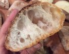Ricetta Pane Ciabatta Senza Glutine - Alveolatura