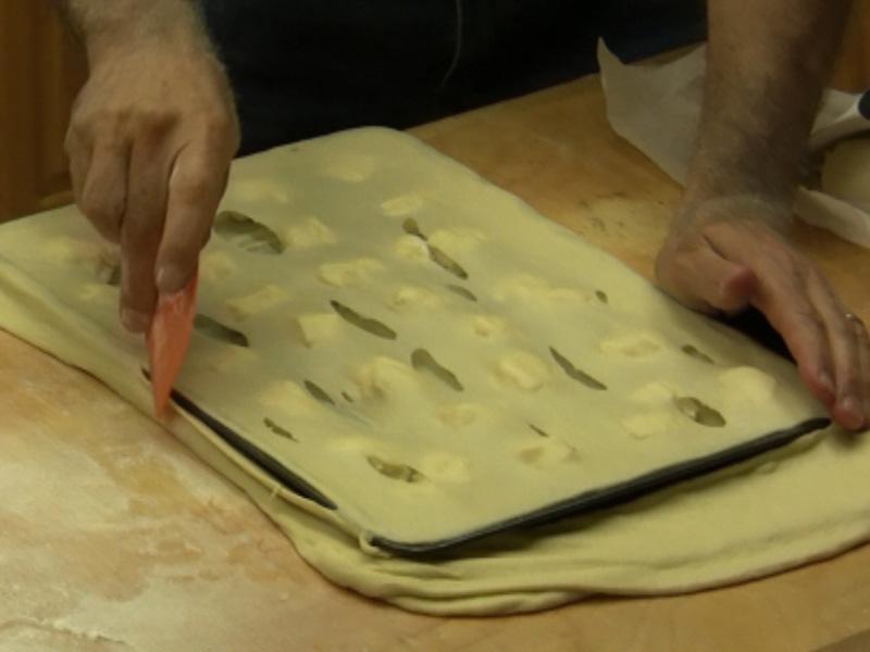 La Video Ricetta Focaccia col Formaggio di Recco