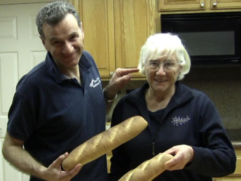 La Video Ricetta della Baguette di Nonna Laura