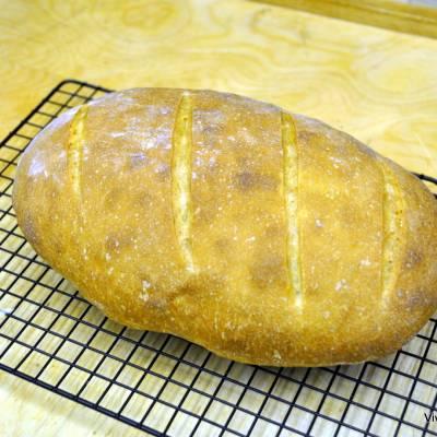 Video Ricetta del Pane fatto in Casa con Lievito Naturale - VivaLaFocaccia