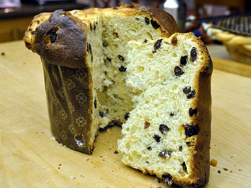 Ricetta Panettone Fatto in Casa con il Lievito di Birra