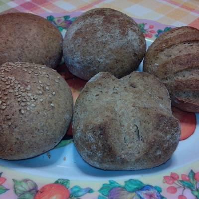 Ricetta Panini integrali con Lievito Madre - Le Ricette di VivaLaFocaccia