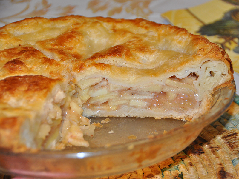 Video Ricetta Apple Pie Americana