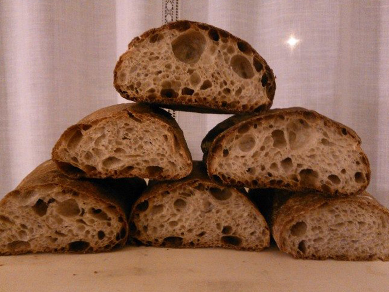 Ricetta Pane Integrale.Ricetta Pane Integrale Con Pasta Madre Le Ricette Di Vivalafocaccia