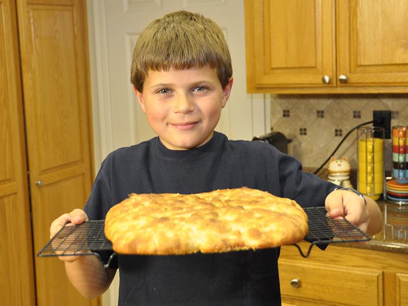 Video Ricetta Pizza Bianca (Focaccia) Semplice