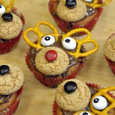 Video Ricetta Muffin Renna di Natale - Le Ricette di VivaLaFocaccia