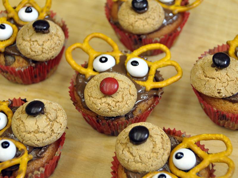 Video Ricetta Muffin Renna di Natale