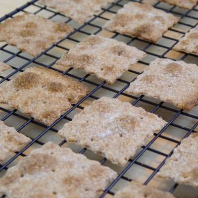 Ricetta Crackers Integrali